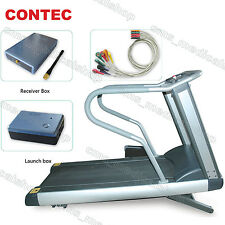 NEW CONTEC8000S Wireless Stress ECG/EKG PC analysis systems,treadmill optional.
