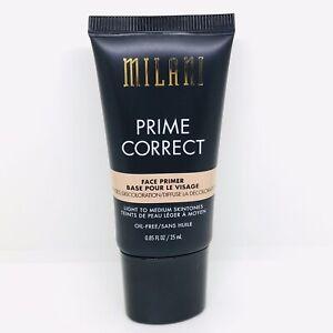 Milani Prime Correct Face Primer 25ml Light To Medium Skintones