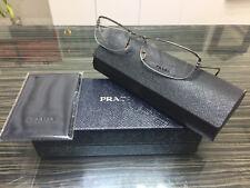 Brand New Prada Authentic Vintage Women Eyeglasses Frame PR 61DV 7AU-1O1 Italy S