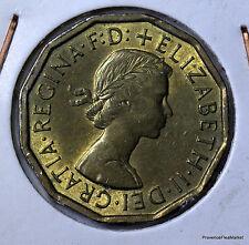 Royaume-uni Great Britain 3 pence 1964 nickel-brass AC99