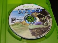 Halo: Combat Evolved-Platinum Hits (Microsoft Xbox, 2002) TESTED! DISC ONLY!