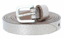 Vanzetti Chain Reaction 15mm metalizado Belt w70 cinturón platinumgold metalizado