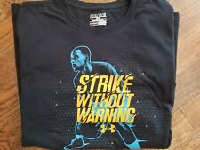 """Under Armour UA SC Stephen Curry """"Strike Without Warning"""" T Shirt  XL"""