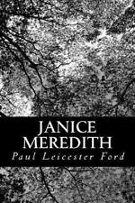 Janice Meredith by Paul Leicester Ford (2013, Paperback)