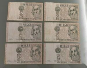 LOTTO banconote MILLE LIRE MARCO POLO - italy