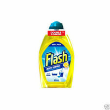 1x Flash Multi-surface Concentrated Cleaner Crisp Lemon 400ml