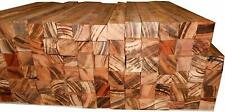 50 goncalo alves tigerwood turning squares 5/8 x 5/8 x 5 inches long kiln dried