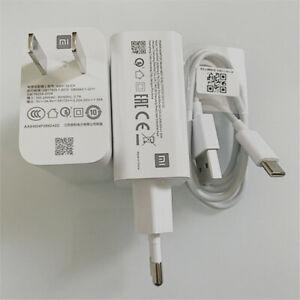 Original Xiaomi 27W Fast Charging Adapter Turbo Charge Mi 8 9 10 11 Mix2 3 Max 3