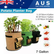 Potato Grow Bags 4/7/10 Gallon Planting Pouch Breathable Fabric Container Pots