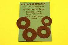 CARBONTEX NEWELL 500 & GLENDALE 500 SERIES REELS CARBON UPGREADE DRAG WASHER SET