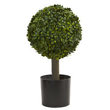 """21"""" Boxwood Ball Topiary Tree Artificial High Quality Fake Silk Plant, item4596"""