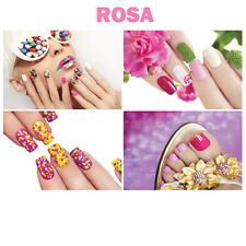 """4 Wall Decoration Rosa PINK Salon Spa Themed Murals on Canvas Nail 36"""" x 24"""""""