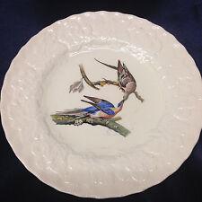 "MEAKIN ALFRED BIRDS OF AMERICA 8.75"" LUNCHEON PLATE PASSENGER PIGEON 62 EMBOSSED"