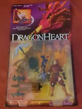 VINTAGE Dragon Heart action figure, FELTON, 1995, w/Spinning Battle Blade and...