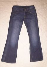 HUDSON Boot Cut Jeans Elm Wash Sz 28/28.5 Juniors Style W170DHA USA Low