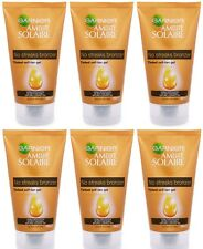 6 x Garnier Ambre Solaire No Streaks Bronzer Self-Tanning Tinted Shimmer Gel NEW