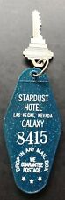 Vintage Stardust Hotel Las Vegas Room Key and FOB