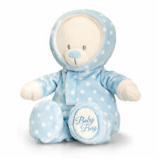 Nuevo Bebé Niño Regalo De Oso De Peluche Juguete de Felpa Suave por Keel Toys-Azul Mameluco Traje