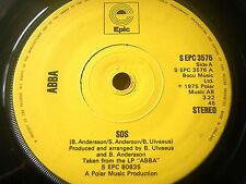 """ABBA - SOS  7"""" VINYL"""