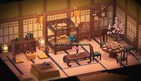 Full Brown Imperial Set (27pcs) Japanese Furniture- Animal Crossing New Horizons