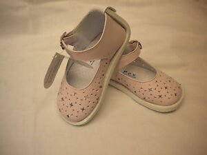 Baby Girl  Shoes by Pex design Enya Pink Leather size 2-5 First Class Post