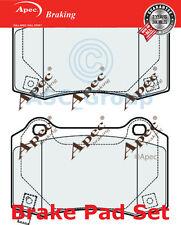 Apec Juego de pastillas de Frenos Traseros Repuesto de calidad OE pad2057