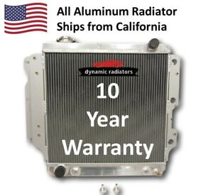 3ROW All Aluminum Radiator for 1987-2006 Jeep Wrangler YJ TJ HPR402