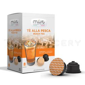 MUST Peach Tea Nescafe Dolce Gusto Compatible Capsules Coffee Machine Pods