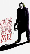 """034 Heath Ledger - Australian Actor The Joker Film Movie 14""""x25"""" Poster"""
