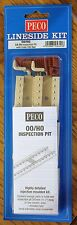 HO Scale - PECO LK-56 Lineside KIT INSPECTION PIT with Code 100 NS Rail