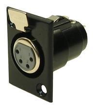 4 Pin Xlr Presa-Donna CLIFF componenti elettronici