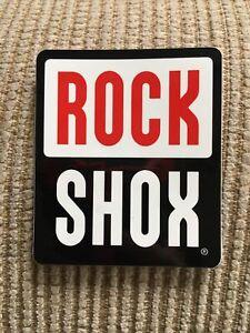 Rock Shox- Bike Cycling Sticker Decal