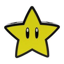 Super Mario Star 3D Projection Leuchte Light Tischlampe Geschenk Nachtlicht