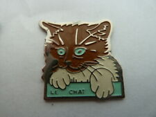 PIN'S   CHAT  /  LE CHAT  /   TOSCA   /  SUPERBE