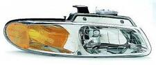 Fits 96 - 00 Dodge Caravan Headlight Passenger NEW Single Headlamp Bulb Voyager
