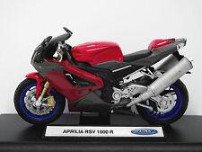 SPEED/Top, Aprilia RSV 1000 R, NEW/Top, MOTO, moto, bici, motore, Welly 1:18