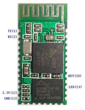HC-06 30ft módulo transmisor-receptor RF inalámbrico Bluetooth Serial RS232 TTL