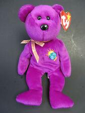 NWT~ TY Beanie Babies~ MILLENNIUM Bear ~ Birthday January 1, 1999  FREE SHIPPING