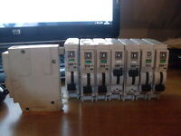 SQUARE D QOE TYPE 1, 2 & 3  MCB CIRCUIT BREAKERS 6 10 16 20 & 32A, SENT SAME DAY