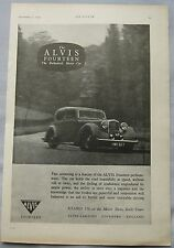 1949 Alvis Fourteen Original advert No.1