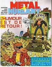 METAL HURLANT N° 104 L'HUMOUR EST DE RETOUR ! 1984 TRES BON ETAT