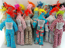 "NEW Random Pattern Different Color Stress Relief 12"" Dammit Plush Doll 10pcs"