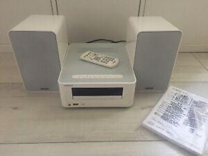 Onkyo CR-265 Mini HifianlageKompaktanlage weiss Bluetooth NFC RC CD Radio TOP!