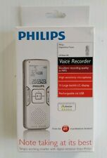 Philips Voice Recorder Tracer LFH0662 Digital USB Dragon Speech Nuance Certified