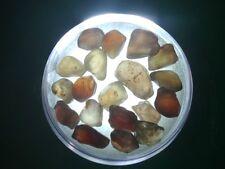 Natural Australian Zircon Rough   25.0 cts.   Parcel 19 stones   # 106