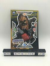 Lego® Star Wars™ Serie 2 Chewbacca LE7 Goldkarte Trading Card Game limitiert NEU