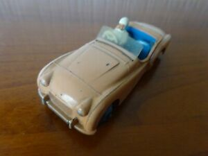 TRIUMPH TR2 - DINKY TOY 111 - Vintage Die cast model UNBOXED - SEE PHOTOS.