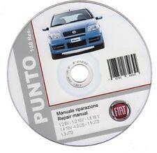 Fiat Punto 3° serie (2003-2007) manuale officina - repair manual
