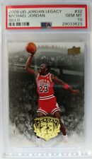 2009 09 UD Gold Legacy Michael Jordan 88 Dunk Champ #32, Graded PSA 10, Pop 25!