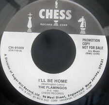 "The Flamingos - I'LL BE HOME / A KISS FROM Promo Vinyl 7"" Single  [1984]"